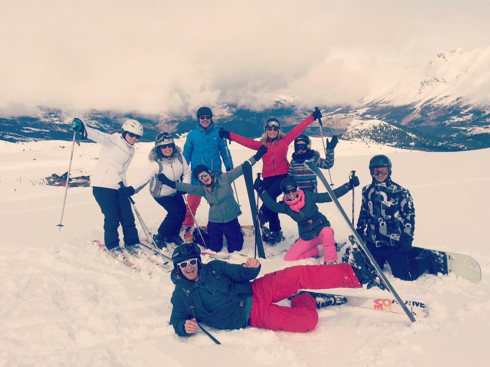 Wintersport, het vervolg!